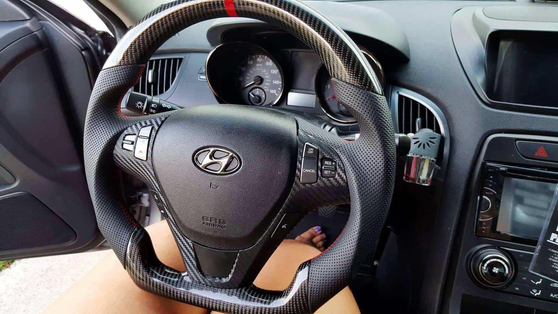 2009-2016 Genesis Coupe Fully Custom Steering Wheel Built ...