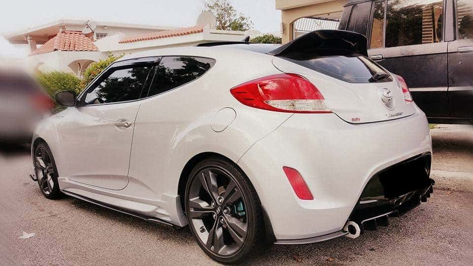 2012 2017 Veloster Duckbill Non Turbo Socal Garage Works