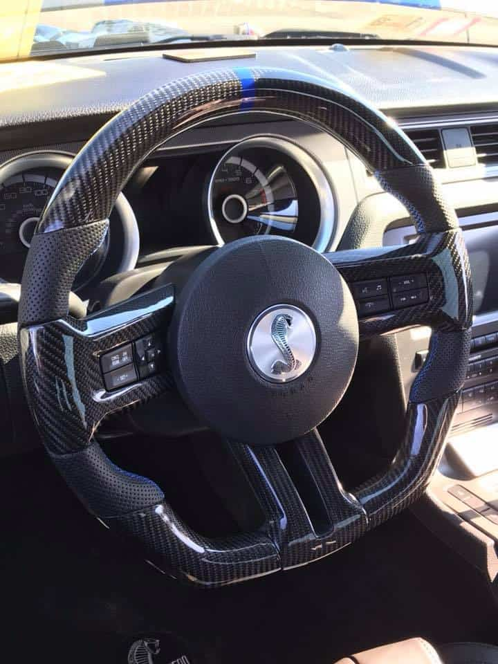 Mustang Performance Parts >> 2005- 2020 Mustang Fully Custom Steering Wheel Built Your ...