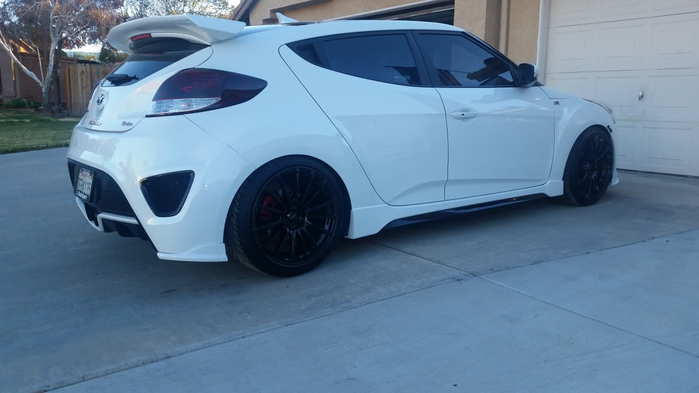 Veloster Turbo LED Tail Lights (1 Pair Left and Right ...