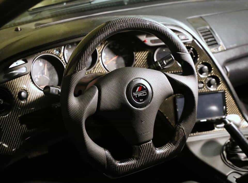 1993-2002 Toyota Supra Fully Custom Steering Wheel Built
