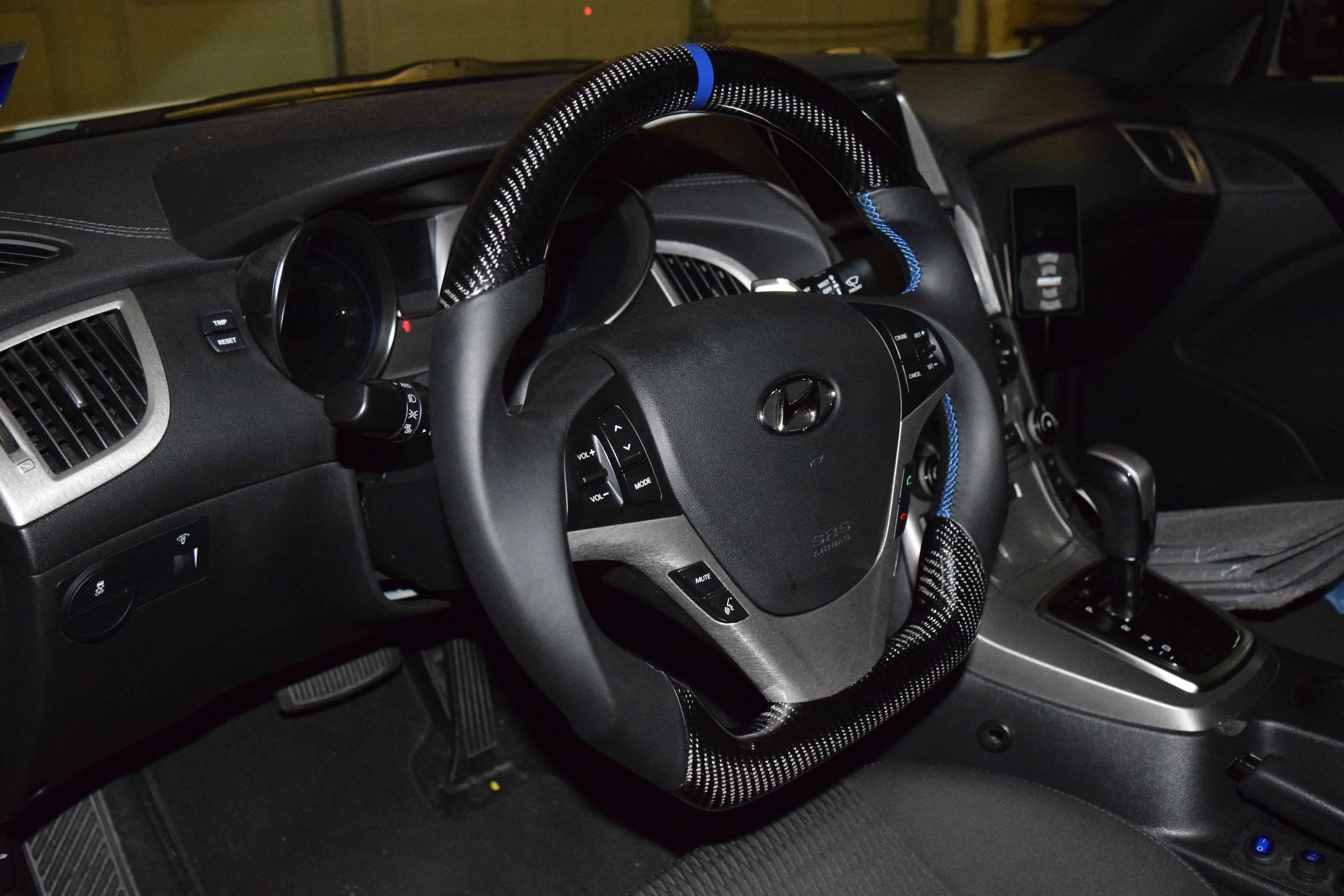 2009 2016 Genesis Coupe Fully Custom Steering Wheel Built