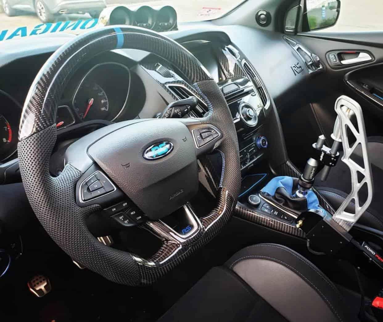 2010 2017 Ford Focus Focus St Rs Custom Steering Wheel Socal Garage Works