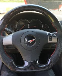 1997-2011 ZR1 Z06 C6 Corvette Carbon Fiber Custom Steering ...