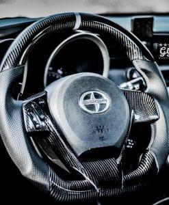 2011 2016 Scion Tc Carbon Fiber Steering Wheel Socal Garage Works