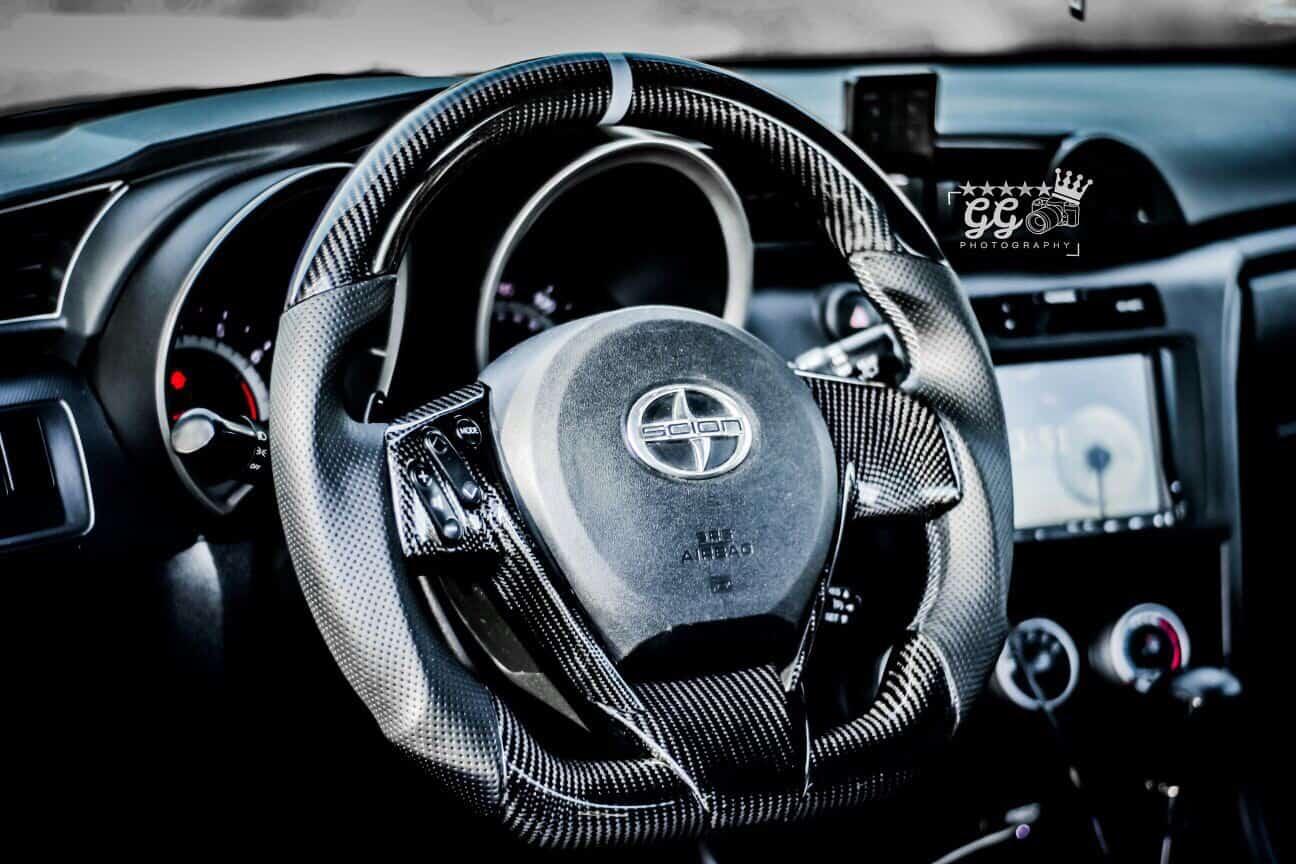 2011 2016 Scion Tc Carbon Fiber Steering Wheel Socal