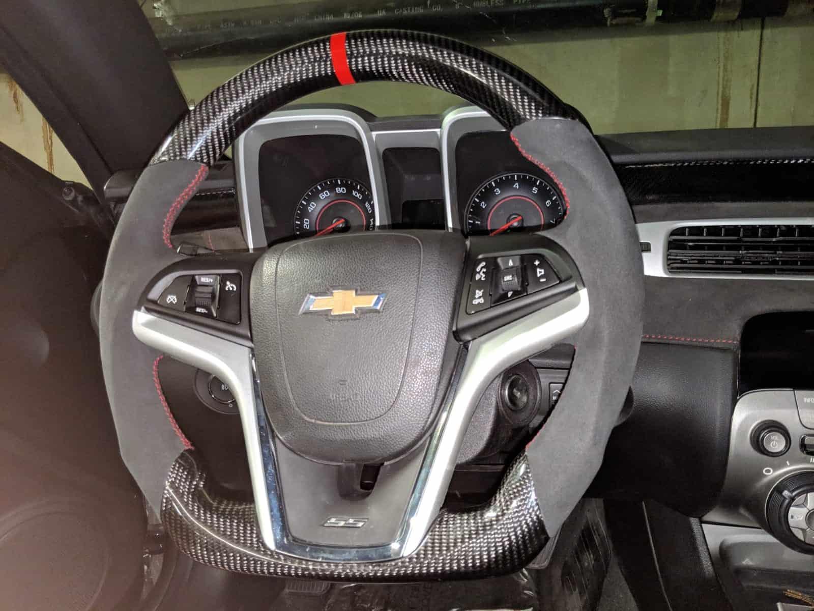 2010-2020 Camaro Carbon Fiber Steering Wheel – SoCal ...
