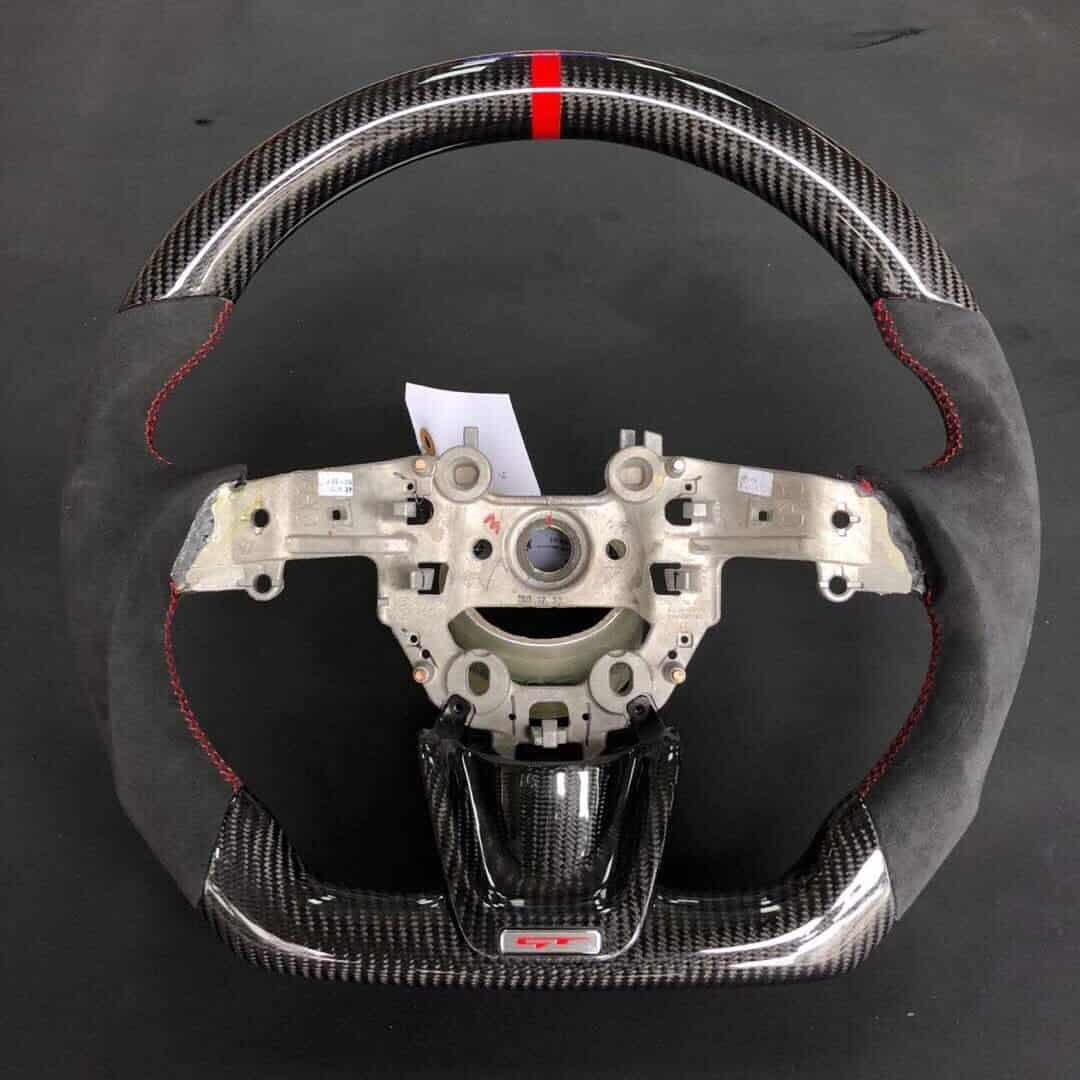 Kia Performance Center >> Kia Stinger Customized Steering Wheel – SoCal Garage Works