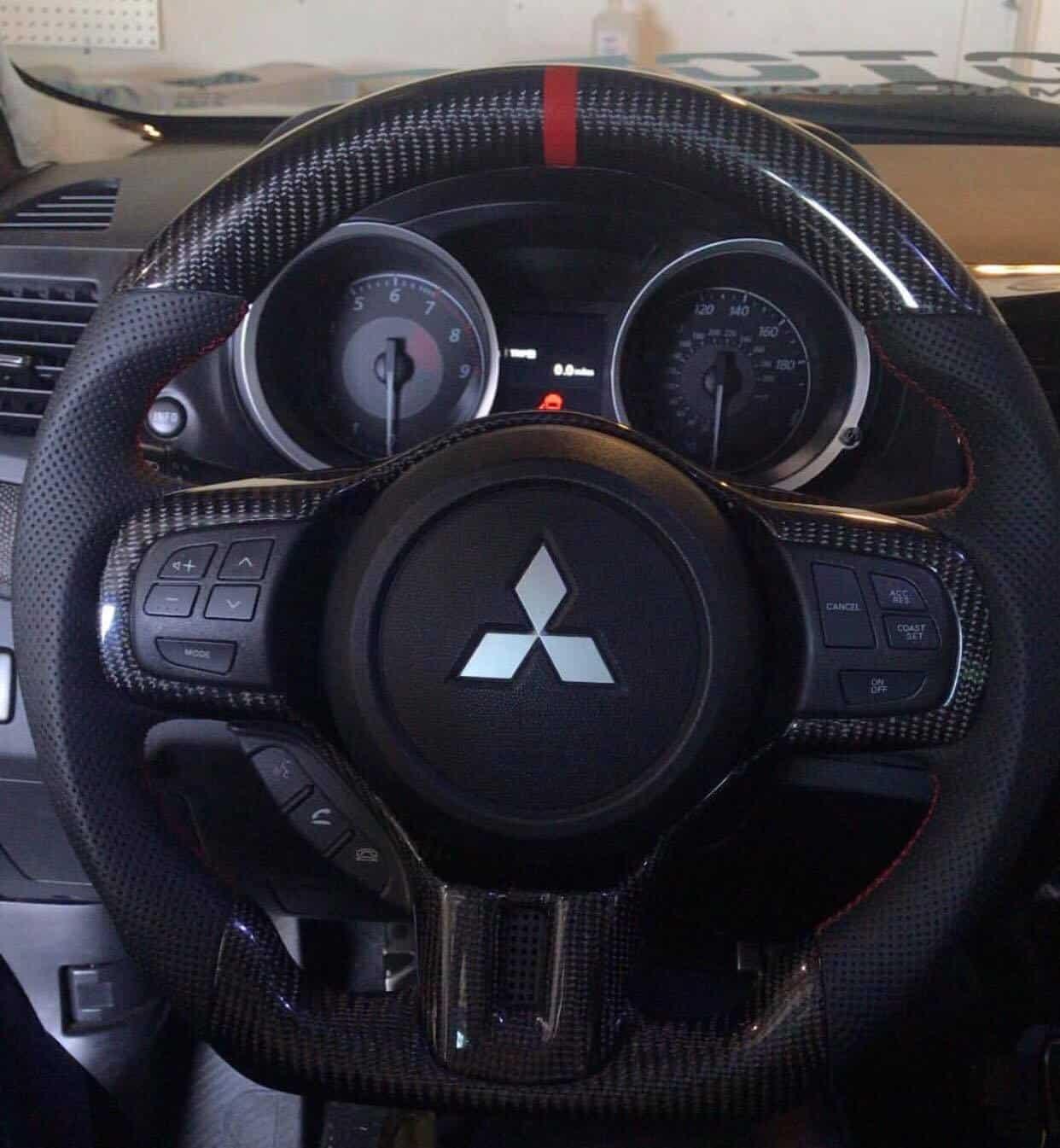 2008-2017 Mitsubishi EVO/EVO X/Ralliart Carbon Fiber