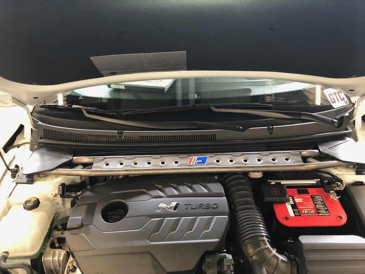 2019 Hyundai Veloster/Veloster Turbo Pierce Motorsports Chromoly Strut Brace