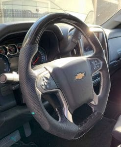 2007-2020 Chevy Silverado Carbon Fiber Steering Wheel ...